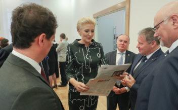 Pierwsza Dama z wizytą we Lwowie