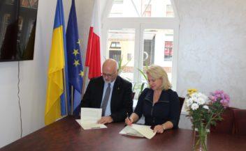 Podpisanie umowy o współpracę