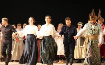"""Опера """"Галька"""" в Оперній студії НМАУ у Києві."""